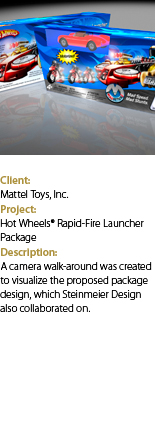 Hot Wheels Launcher with text