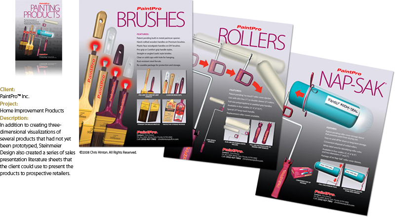 PaintPro Brochures